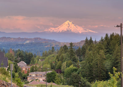Mt. Hood from Happy Valley