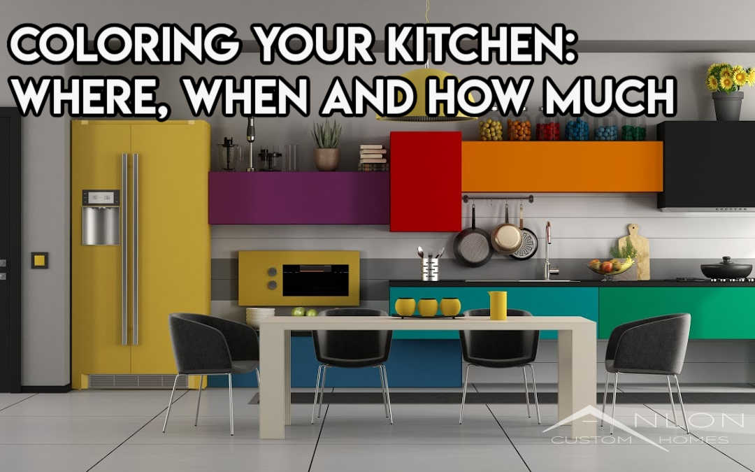 Coloring in the Kitchen